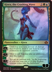 Kiora, the Crashing Wave - Foil on Channel Fireball