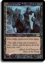 Black Knight (FNM Foil) on Channel Fireball