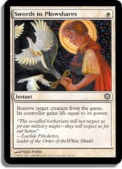 Swords to Plowshares (Theme Deck Reprint) on Channel Fireball