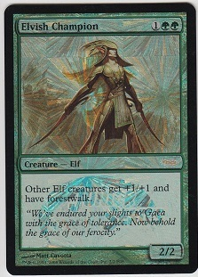 Elvish Champion (Junior Series Promo Foil E08)