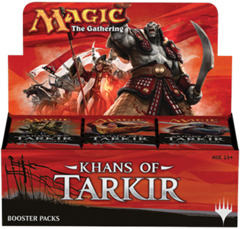 Khans of Tarkir Booster Box on Channel Fireball