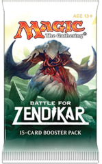 Battle for Zendikar Booster Pack on Channel Fireball