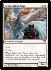 Restoration Angel - Foil on Channel Fireball