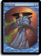 Mana Leak (Textless Player Rewards) on Channel Fireball