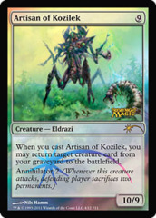Artisan of Kozilek (FNM Foil) on Channel Fireball