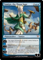 Tamiyo, the Moon Sage on Channel Fireball