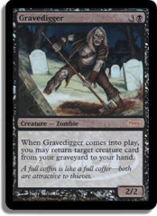 Gravedigger (WPN Foil) on Channel Fireball