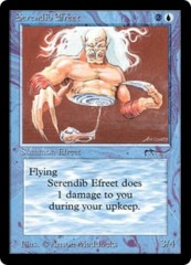 Serendib Efreet on Channel Fireball