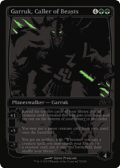 Garruk, Caller of Beasts (SDCC 2013 Promo) on Channel Fireball