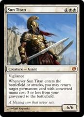 Sun Titan - Foil on Channel Fireball