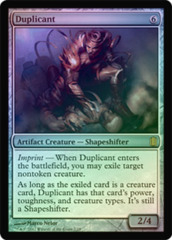 Duplicant - Foil on Channel Fireball