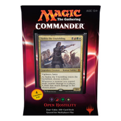 Commander 2016: Open Hostility (Black/Red/Green/White Deck) on Channel Fireball