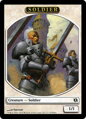 Soldier Token on Channel Fireball