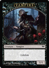 Vampire Token on Channel Fireball