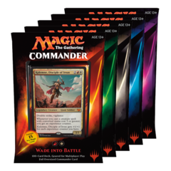 Commander 2015: Set of Five on Channel Fireball