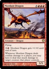 Mordant Dragon on Channel Fireball