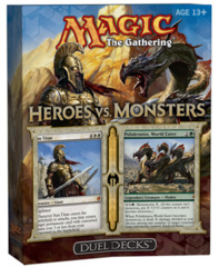 Duel Decks: Heroes vs. Monsters on Channel Fireball