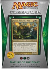 Commander 2013: Nature of the Beast (Red/Green/White) on Channel Fireball