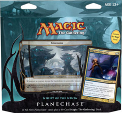 Planechase 2012 Game Pack: Night of the Ninja on Channel Fireball