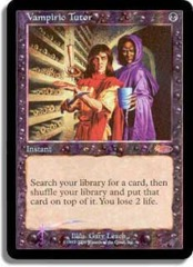 Vampiric Tutor (Judge Foil) on Channel Fireball