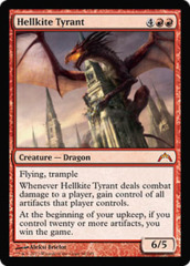 Hellkite Tyrant - Foil on Channel Fireball