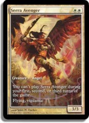 Serra Avenger (Extended Art Foil) on Channel Fireball