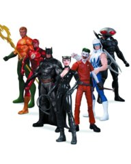 DC Collectibles Comics The New 52: Super Heroes vs. Super Villains Action Figure, 7-Pack
