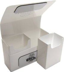 Monster Double Deck Box: Matte White