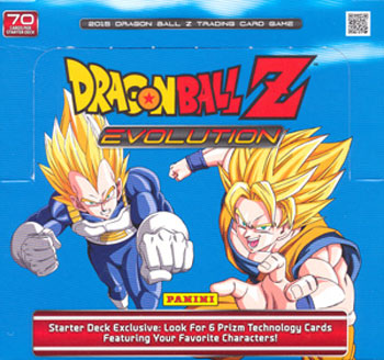 Panini DragonBall Z Evolution Starter Deck Box