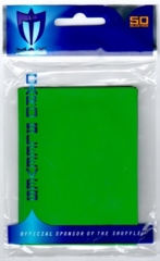 Max Protection Alpha Gloss Standard Size Sleeves - Green - 50ct