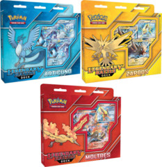 Set of 3 Legendary Battle Decks: Articuno, Zapdos, Moltres