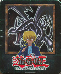 2002 Red Eyes Black Dragon Collectors Tin with 5 Packs and BPT-005 Card