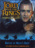 Battle of Helm's Deep Legolas Cards Starter Deck
