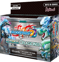 BFE-D-SD02 Cross Dragoner Start Deck