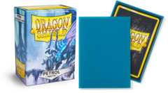 Dragon Shield Sleeves - Matte Petrol - 100ct