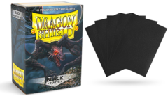Dragon Shield Sleeves - Matte Black - 100ct