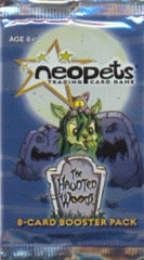 Neopets Card Game TCG Haunted Woods Booster Pack