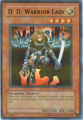D. D. Warrior Parallel Rare Holo HL06-EN003