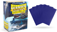 Dragon Shield Sleeves - Matte Blue - 100ct