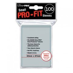 Ultra Pro Small Size Pro-Fit Sleeves - 100ct