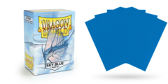 Dragon Shield Sleeves - Matte Sky Blue - 100ct