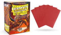 Dragon Shield Sleeves - Matte Red - 100ct