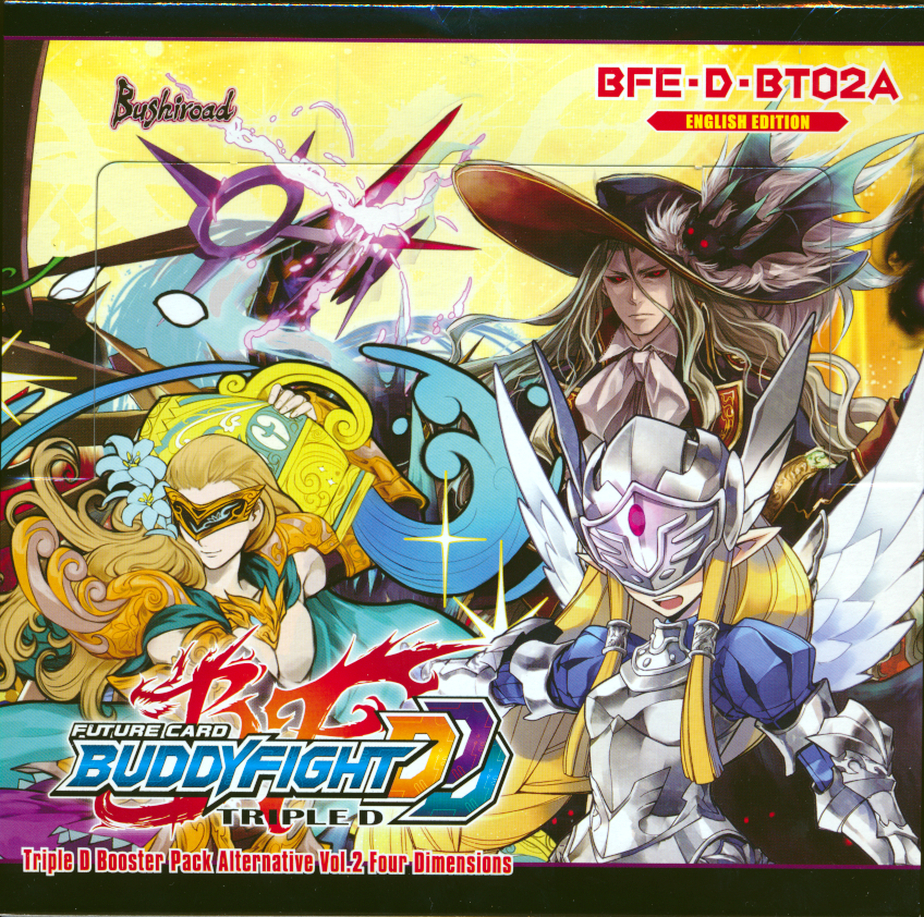 BFE-D-BT02A Four Dimensions Booster Box