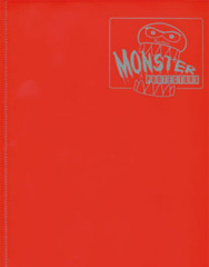 4-Pocket Monster Binder - Matte Red