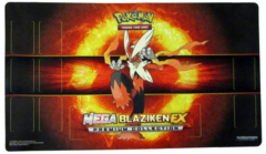 Pokemon Mega Blaziken Playmat - Mega Blaziken Premium Collection Exclusive