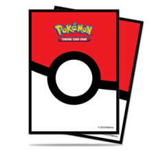 Ultra Pro Standard Size Pokemon Pokeball Sleeves - 65ct