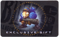 2009 Blizzcon World of Warcraft Anaheim Exclusive Grunty Pet Loot Code Card