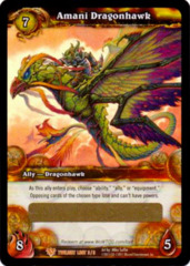 Amani Dragonhawk Loot Card
