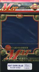 KMC Mat Dark Blue Sleeves (80 ct)