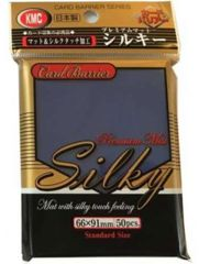 KMC Silky Blue Sleeves (50ct)